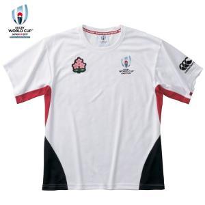 カンタベリー(canterbury)ラグビー 半袖Tシャツ(メンズ)RWC 2019 WINGER TEE(VWT39116-10)2019SS|proshop-bd