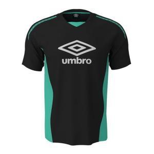 アンブロ(umbro)サッカー 半袖Tシャツ(メンズ)トレーニング ロゴグラフィック プラクティスシャツ(UUUNJA59-BLK)2019SS proshop-bd