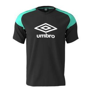 アンブロ(umbro)サッカー 半袖Tシャツ(メンズ)トレーニング ロゴグラフィック プラクティスシャツ(UUUNJA52-BLK)2019SS proshop-bd