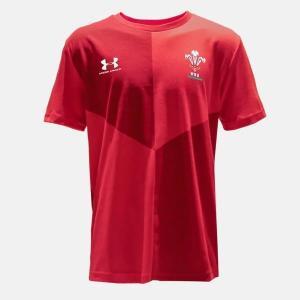 (ジュニア)UAウェールズ代表 グラフィックTシャツ(1349707-600)2019FW|proshop-bd