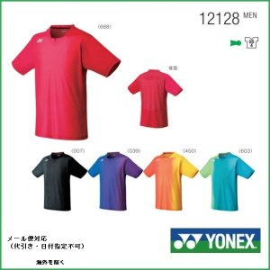 YONEX  ヨネックス ユニ ゲームシャツ バドミントン用ゲームシャツ 12128|proshop-yamano