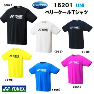 YONEX ヨネックス UNI ベリークールTシャツ 16201|proshop-yamano