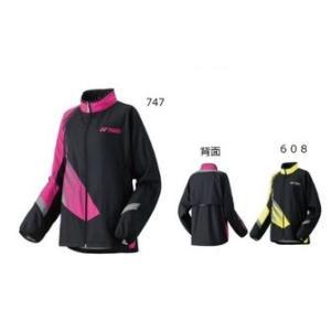 YONEX (ヨネックス) ユニ 裏地付きウィンドウォーマーシャツ(アスリートフィット) 70042 テニス バドミントン ウィンドブレーカー 男女兼用|proshop-yamano