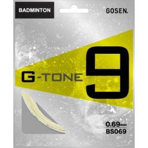 GOSEN (ゴーセン) バドミントン・ストリングス G−TONE9|proshop-yamano
