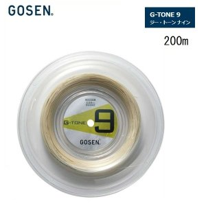 GOSEN ゴーセン バドミントン・ストリングス G−TONE9 200m 40%OFF|proshop-yamano