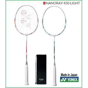 YONEX ヨネックス バドミントンラケット 初・中級者用 ナノレイ450ライト NANORAY450LT NR450LT|proshop-yamano