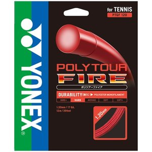 YONEX (ヨネックス) テニス・ストリングス POLYTOUR FIRE 120 ポリツアーファ...
