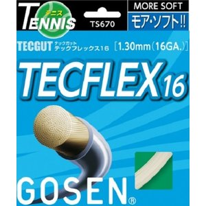 GOSEN ゴーセン  テニス・ストリングス テックフレックス16 TECFLEX16 TS670 50%オフ|proshop-yamano