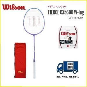 WRT8871202 WILSON ウィルソン バドミントン ラケット フィアースCX 5600 F...
