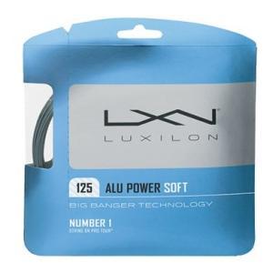 LUXIRON ルキシロン ALU POWER SOFT 125 テニスガット アルパワー ソフト125 30%OFFセール(WRZ990101)|proshop-yamano