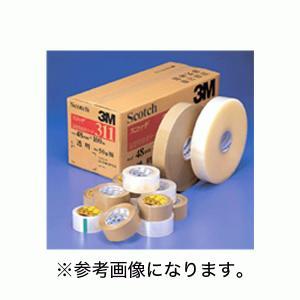 【ベージュ欠品 2021年2月以降予定】3M(スリーエム)  OPP包装用アクリル粘着テープ55μ 36×100 1箱(48巻入) [311] (/N)|proshopdate15