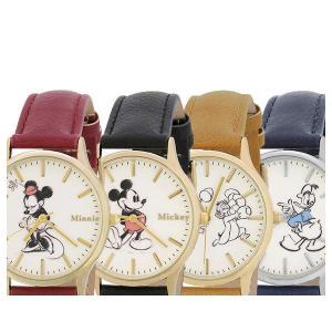 【送料無料(ポスト投函)】SUNFLAME Disney ディズニー 腕時計 レディース ミッキー/ミニー/ドナルド/チップ&デール [WD-B09] 【代引不可】 (/Q) proshopdate15