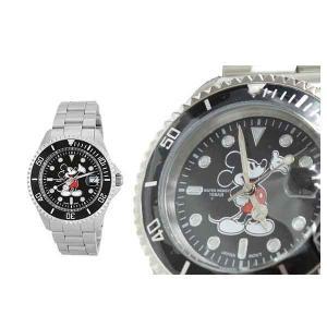 【送料無料】SUNFLAME Disney ディズニー 腕時計 メンズ 男性用 ミッキー 三つ折ベルト 10気圧防水 《ギフト用専用化粧箱付》 [WD-Z01-MK] (/Q) proshopdate15