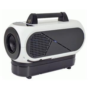 【予約7月以降入荷待ち】日動工業(◆/A) ポータブルスポットクーラー バッテリーセット 充電/AC100V両用 50/60Hz 屋内型 [SPC-032BAC] 持ち運び|proshopdate15
