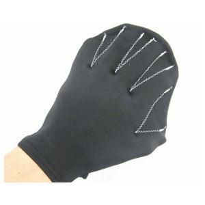 【アウトレット】 リュウナ かっぱの手 ブラック BK/レディース・フリー 水中補助器具 両手分 [KOC013] (/G)|proshopdate15