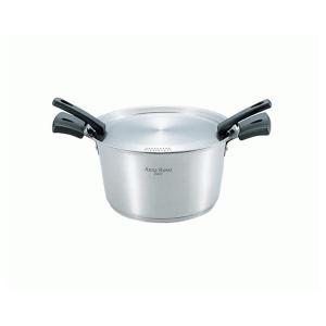 【アウトレット】 アンナ・ロッシ IH200V対応 パスタ鍋 22cm [AR-183] (/G)|proshopdate15