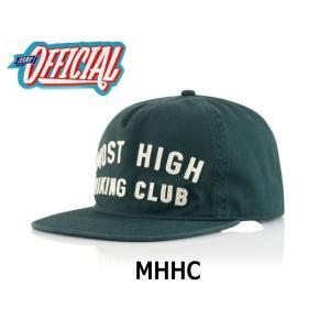 OFFICIAL オフィシャル MHHC CAP キャップ
