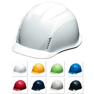 DIC AA16-FVKP 軽い 作業用ヘルメット(通気孔付き/発泡ライナー)/ 工事用 建設用 建築用 現場用 高所用 安全 保護帽 軽量 proshophamada