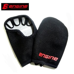 エンジン(ENGINE) ナックルウォーマー ブラック|proshopks
