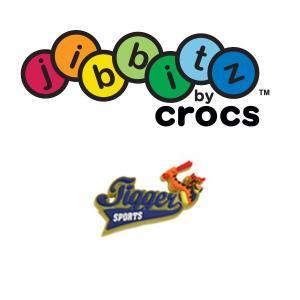 在庫一掃セール50%OFF クロックス(crocs) ディズニー ジビッツ (jibbitz) ティガー スポーツロゴ|proshopks