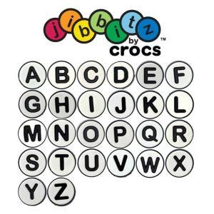 在庫一掃セール50%OFF クロックス(crocs) ジビッツ(jibbitz) アルファベット|proshopks