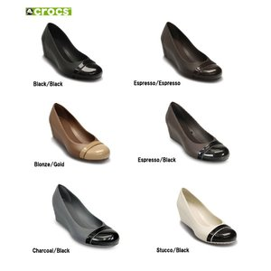 クロックス (crocs) キャップトゥ ウェッジ ウィメンズ (cap toe wedge w)|proshopks