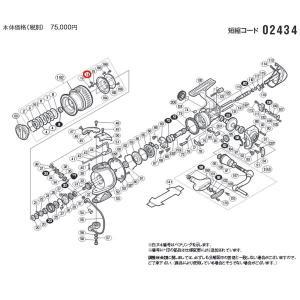 シマノ 10ステラ C3000HG スプールピン 部品NO14【メール便OK】|proshopks