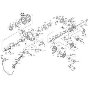 ダイワ 12イグジスト 1003 スプール 部品NO8【送料無料!】|proshopks