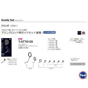 富士工業 トルザイト アジングロッド用ガイドセット T-ATTG128 Fuji TORZITE 【メール便NG】|proshopks