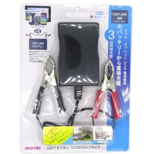 ウッドマン USBアダプター ワニ口タイプ 【メール便OK】|proshopks