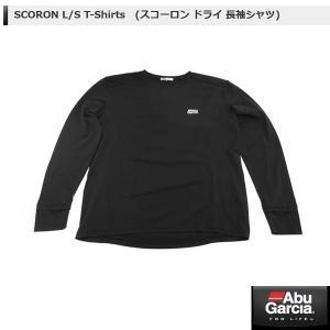 アブ SCORON L/S T-Shirts (スコーロン ドライ 長袖シャツ) #ブラック Lサイズ 【メール便NG】 【お取り寄せ対応商品】|proshopks