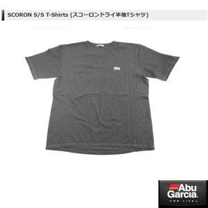 アブ SCORON S/S T-Shirts (スコーロンドライ半袖Tシャツ) #グレー XLサイズ 【メール便NG】 【お取り寄せ対応商品】|proshopks
