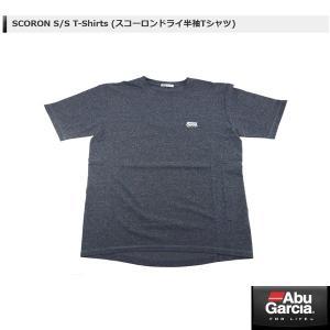 アブ SCORON S/S T-Shirts (スコーロンドライ半袖Tシャツ) #ネイビー Lサイズ 【メール便NG】 【お取り寄せ対応商品】|proshopks