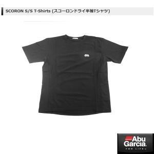 アブ SCORON S/S T-Shirts (スコーロンドライ半袖Tシャツ) #ブラック Lサイズ 【メール便NG】 【お取り寄せ対応商品】|proshopks