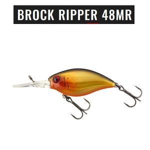 ジャッカル BROCK RIPPER 48MR (ブロック リッパー 48MR) #ダブルクラッチ金黒 【メール便NG】 proshopks