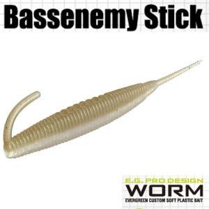 エバーグリーン Bassenemy Stick (バスエネミー スティック) 5インチ #97 スーパーワカサギ 【メール便OK】【FECO認定商品】 proshopks