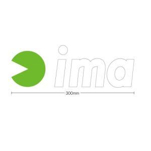 ima カッティングステッカー ホワイト 300mm アムズデザイン アイマ 【メール便OK】 proshopks