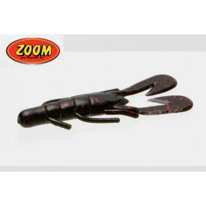 ズーム ウルトラバイブ スピードクロー #001 ブラックレッドグリッター ZOOM UltraVibe Speed Craw 【メール便OK】 proshopks