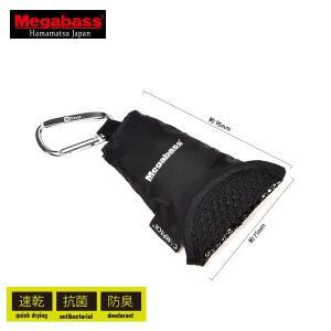 メガバス モバイルマイクロファイバータオル 【メール便NG】【お取り寄せ商品】|proshopks