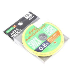 ロデオクラフト RCマイスター フロロリーダー 0.8号 4lb 60ヤード 【メール便OK】|proshopks