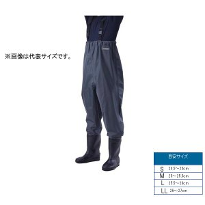 浜田商会 プロマリン ウエストハイウェーダー LLサイズ チャコールグレー FWA020 【メール便NG】|proshopks