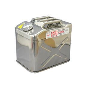キサカ 20L ステンレス縦型携行缶(消防法適合品) 品番 400675 【送料無料】【お取り寄せ商品】|proshopks