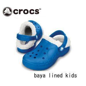 クロックス Crocs バヤ ラインド キッズ|proshopks