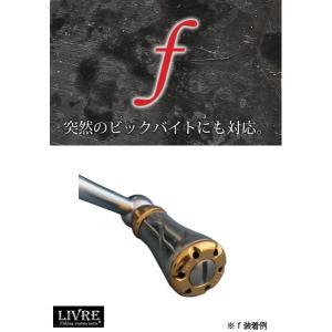 メガテック リブレ(LIVRE) カスタムチタンノブ f(フォルテ) 1個 【メール便NG】【お取り寄せ対応商品】|proshopks