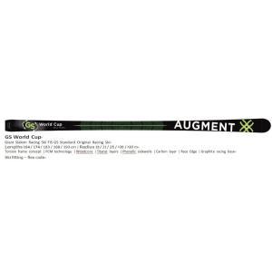 御予約受付中 AUGMENT SKI/GS WC  スキー 18-19 新FIS対応 板のみ|proskiwebshop