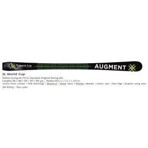 御予約受付中 AUGMENT SKI/SL WC スキー 18-19 FIS対応 スキー板のみ|proskiwebshop
