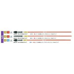 SPM / PRO 27P ブラシグリップ 34023P   レッド、ブルー 10本セット|proskiwebshop