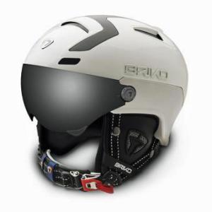 15 -16 BRIKO / ブリコ  STROMBOLI VISOR / White ヘルメット |proskiwebshop