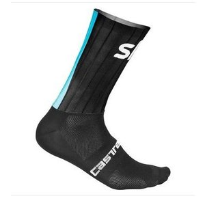 Castelli Team Sky Aero Speed Socks 8150 - black 010|proskiwebshop