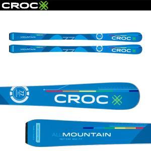 御予約受付中 CROC SKI スキー板のみ ALLMOUNTAIN77 BLUE 17-18|proskiwebshop